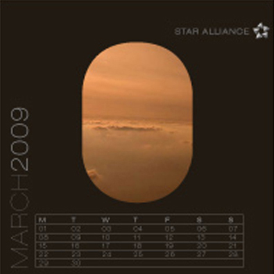 calendrier pour star alliance, Mael Herrero, maelable, graphiste freelance, montpellier
